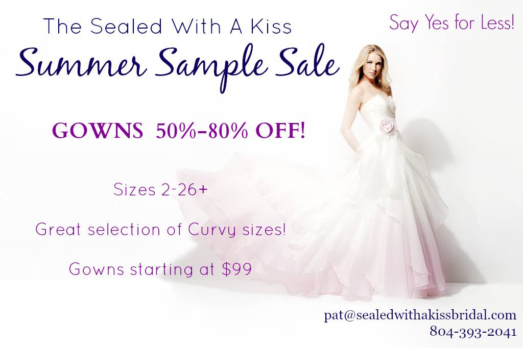 5 Reasons To Shop A Sample Gown Sale