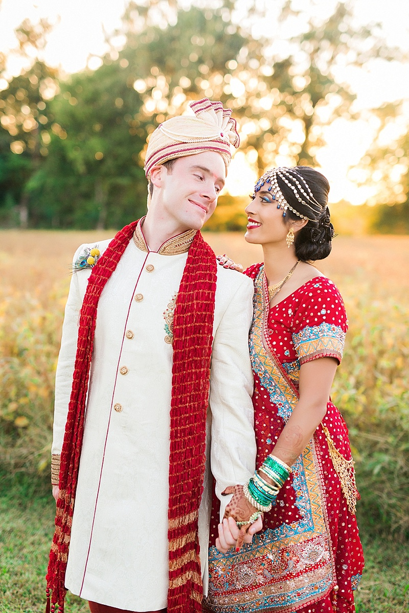 Richmond VA Rustic Indian Wedding