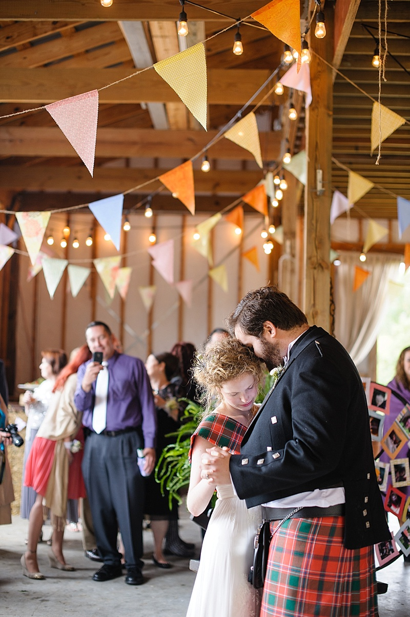 Richmond Virginia Barn Wedding DIY Scottish Wedding Photos