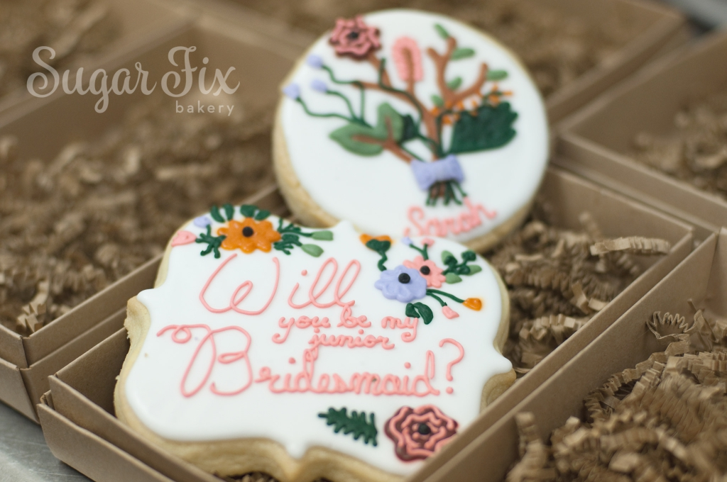 Sugar Fix Bakery custom cookies photos wedding bakery