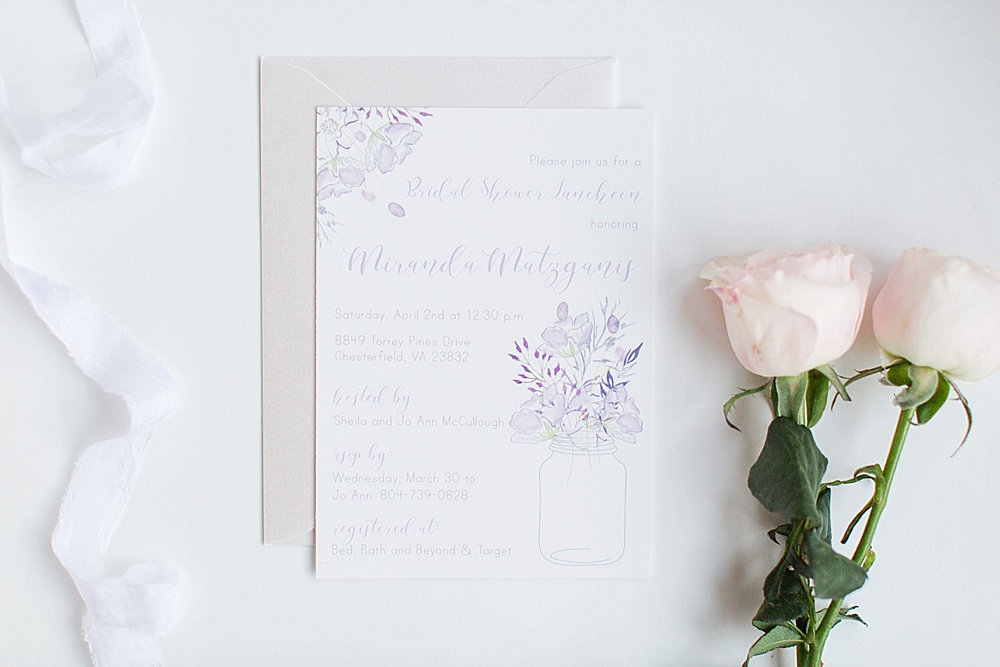 ordering wedding invitations by english tea paperie