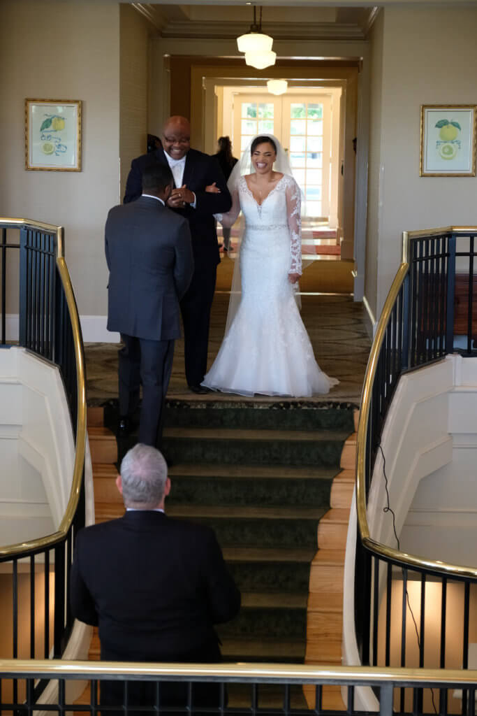Real Richmond Weddings Fatima Julian Dominion Club