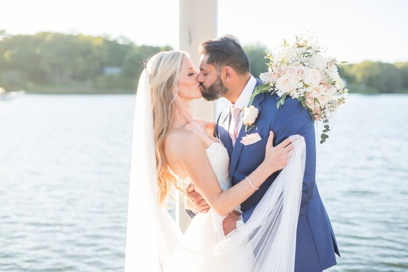 Richmond Weddings Ann Gurpreet The Tides Inn Virginia Wedding