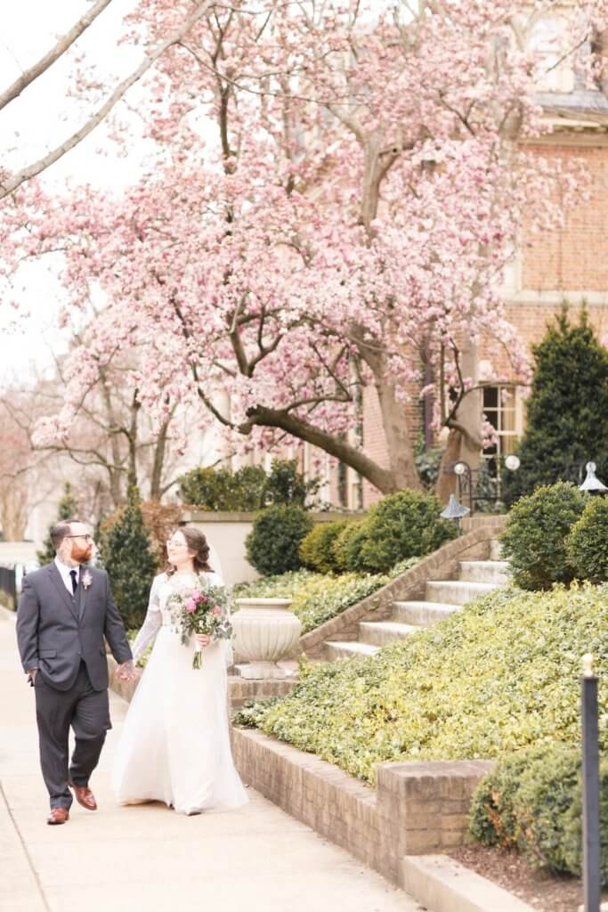Virginia Ashley Photography Spring Wedding Richmond Weddings Real Tattoo