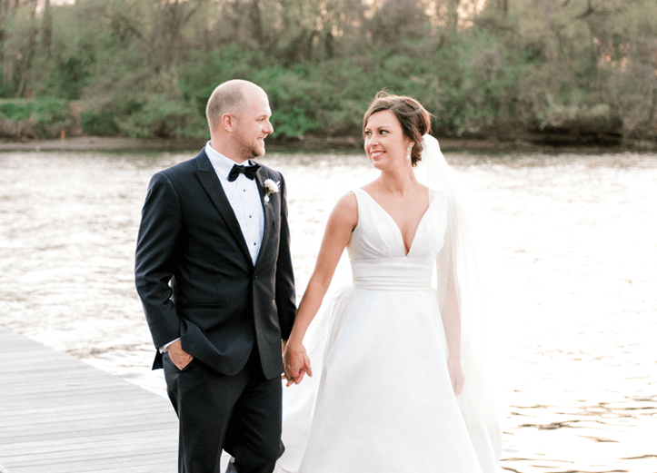 Real Richmond Weddings RVA Wedding Boathouse at Rocketts Landing Spring Wedding Kaitlin Ben