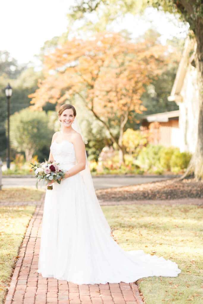 Real Richmond Wedding Krista Patrick Fall Weddings Inspiration Golf Course
