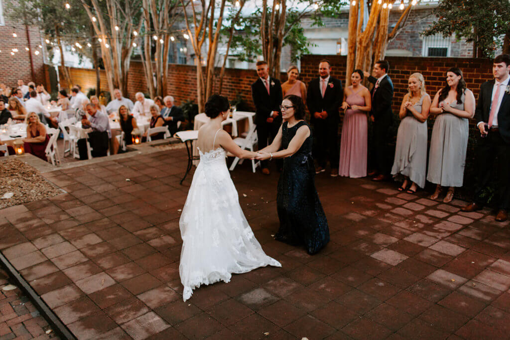 Julia Trey Real Richmond Wedding Linden Row Inn Fall Weddings