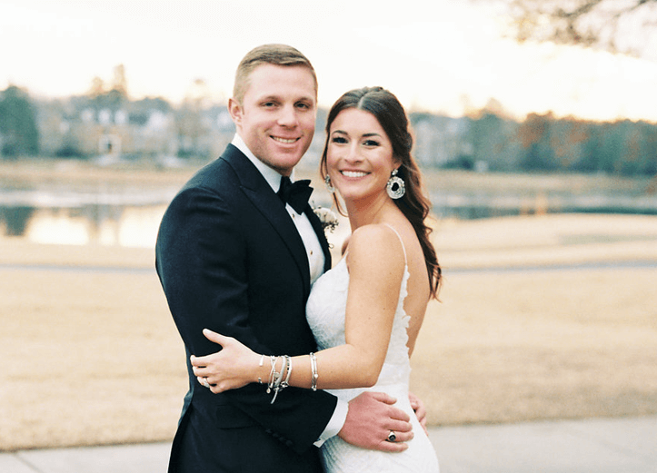 Lindsay Bobby Real Richmond Weddings RVA Winter Wedding