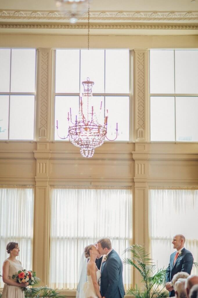 Real Richmond Wedding John Marshall Ballrooms Summer City Wedding Alyssa Trey