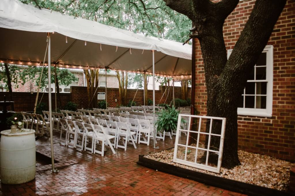 Real Richmond Wedding Emily Colin Linden Row Inn