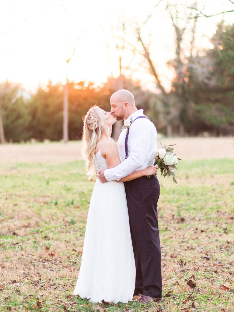 Lauren Eric Richmond Wedding Intimate Rustic November Cozier