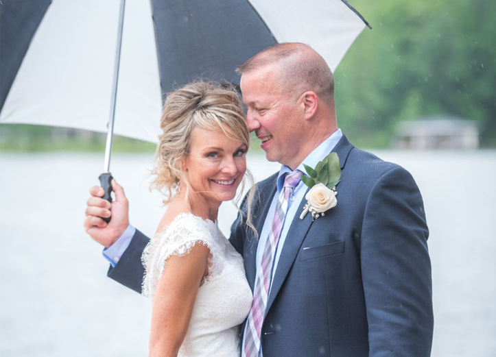 Nicole vance photography richmond weddings rainy day luck drops plan