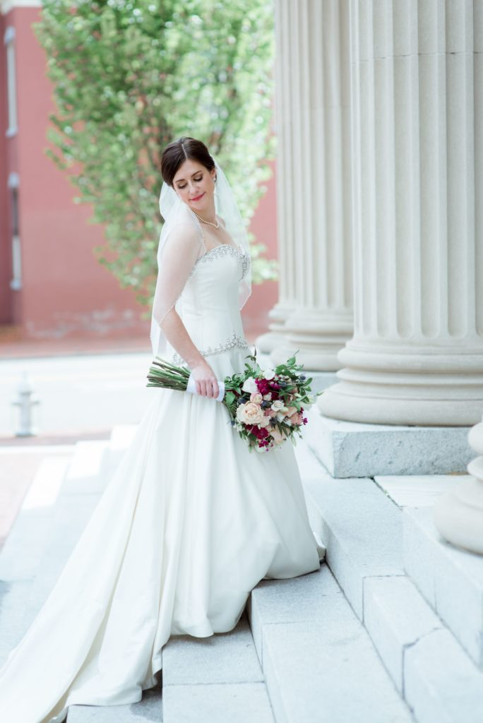 Laurie Alex Jefferson Hotel Real Weddings Richmond Downtown City