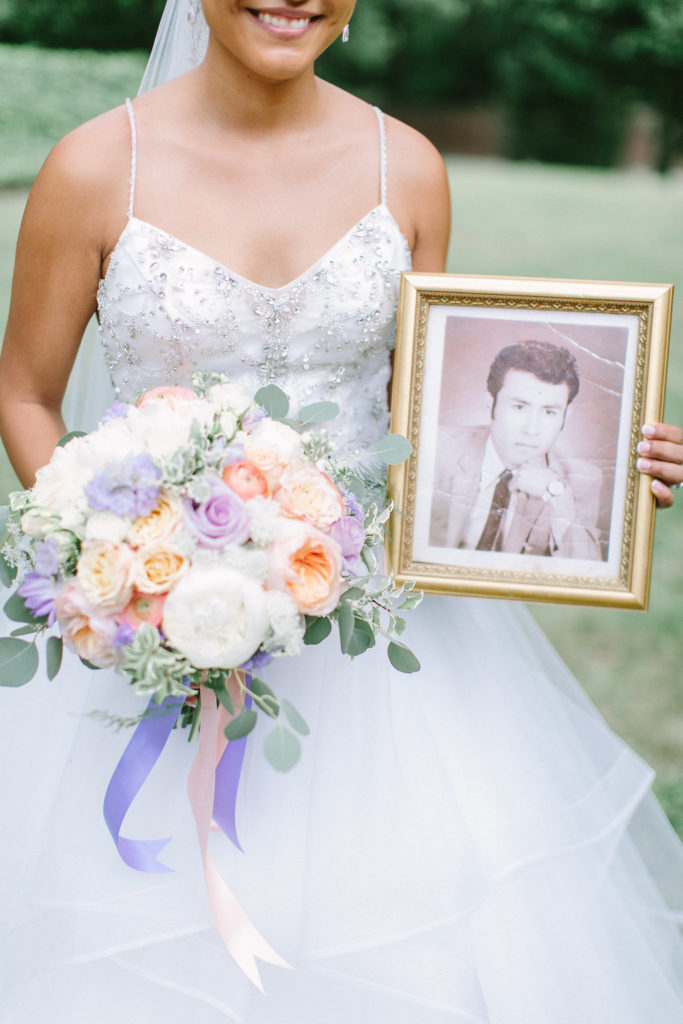 Lisette Graham Real Richmond Wedding Alzheimer Purple Details