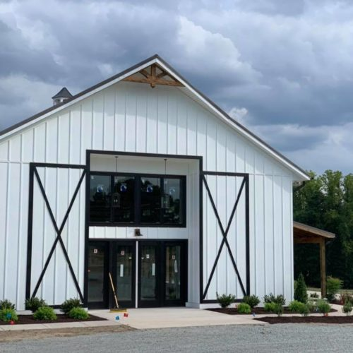 modern farm venue oakdale richmond wedding property built