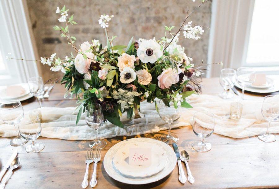 Amy Cabaniss Julep's New Southern Cuisine Richmond Wedding reception earlier