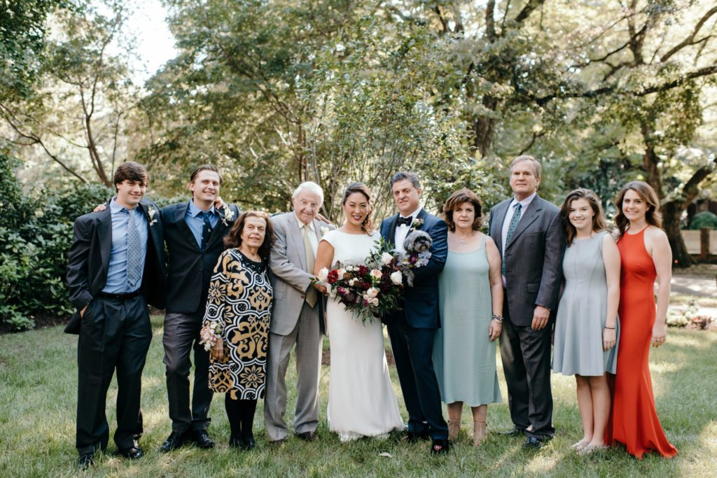 Real Richmond Wedding Garden Party Second Marriage Fall Older