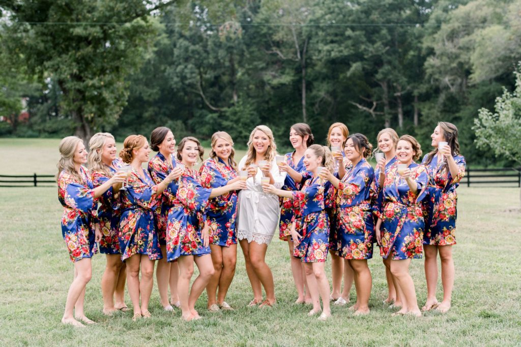 Brittany Justin Real Richmond Wedding Farm Fall Rustic Inspiration Weddings
