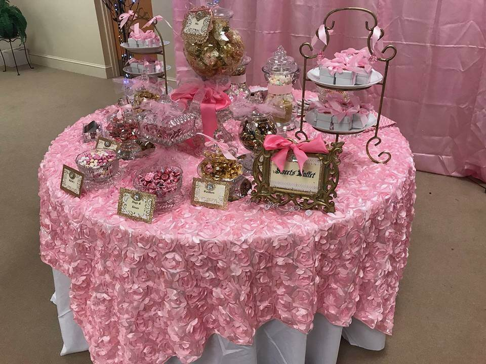 Tammy Edwards Candy Lady Sweets Buffet Richmond Wedding
