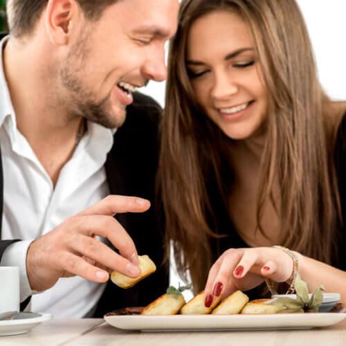 food tasting richmond weddings