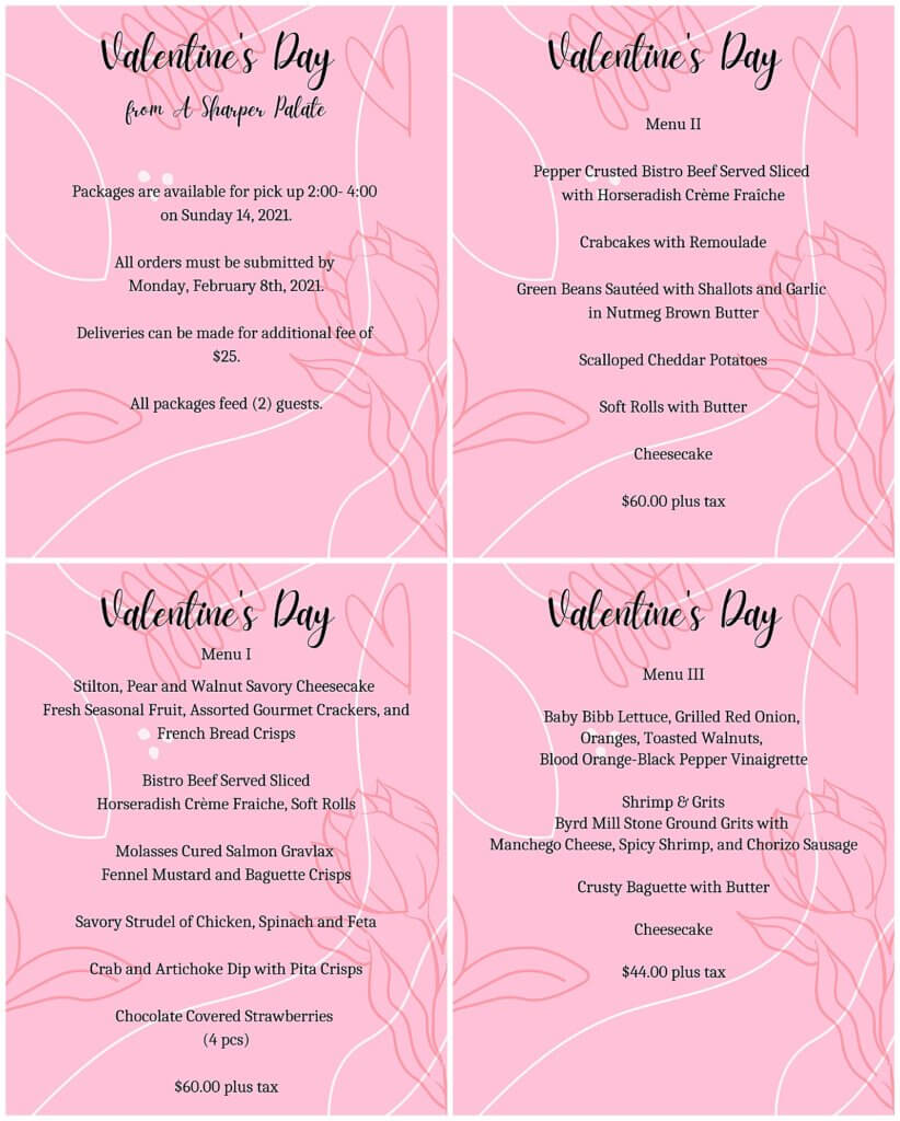 A Sharper Palate Valentines Day 2021