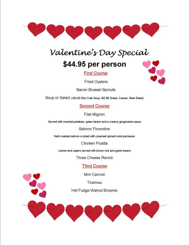 Tarrants Valentines Day 2021