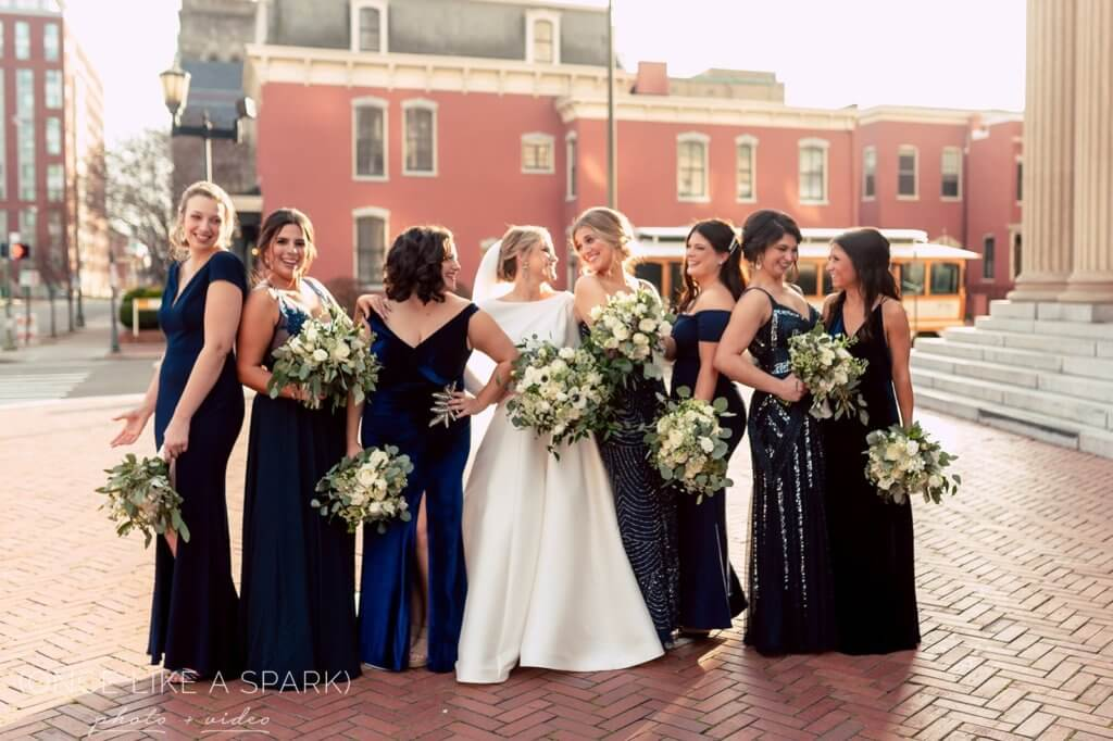 Real Richmond Wedding Mary - Kyle - Once Like a Spark