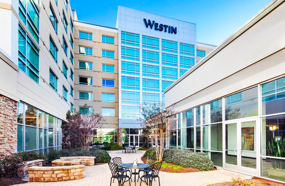 westin richmond va hotels