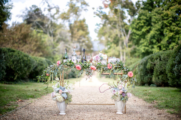 flowers make scents richmond virginia wedding florist