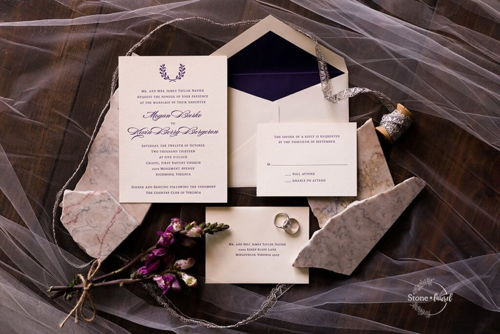 Papeterie Wedding Invitations Paper Goods Richmond Weddings